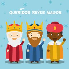 Resultat d'imatges de navidad infantil REYES MAGOA