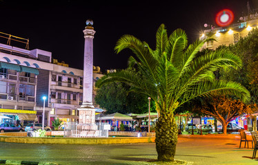Venetian Column on Ataturk Square in Nicosia - Northern Cyprus