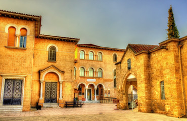 Byzantine Museum and Archbishop Palace in Nicosia - Cyprus