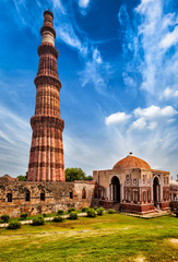 Keuken foto achterwand India Qutub Minar