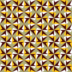 Seamless background image of vintage geometry pattern.