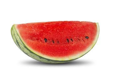 Fresh Watermelon On White Backround