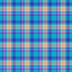 Colorful seamless tartan pattern