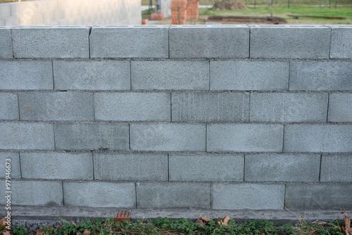 Blocchi Calcestruzzo Per Muri.Muro Di Mattoni Blocchi Di Cemento Calcestruzzo Trama Texture