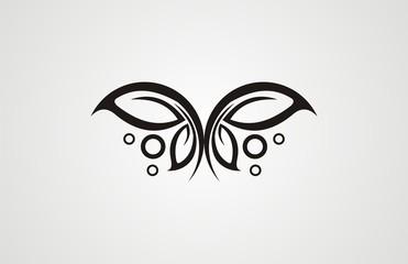 tatoo buterfly vector