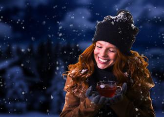 winter time women