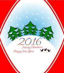 Christmas card holiday
