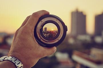 Camera lens rear