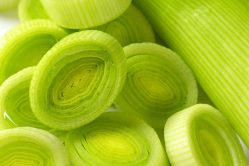 leek slices