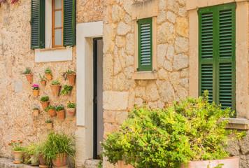 Dorf Haus in Spanien