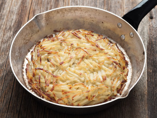 rustic swiss potato rosti
