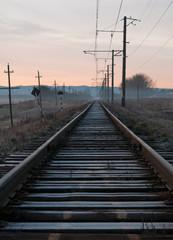 Door stickers Railroad old railway
