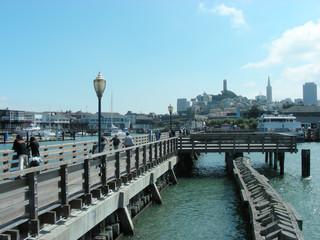 Pier von San Francisco - Kalifornien, USA