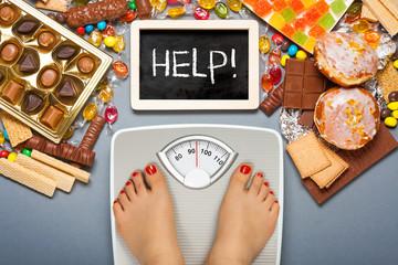 Unhealthy diet - overweight