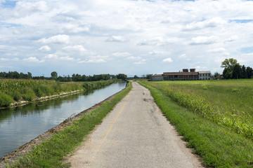 Canal of Bereguardo (IMilan)