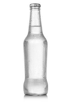 soda bottle with drops
