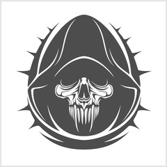 Vector Demon Skull