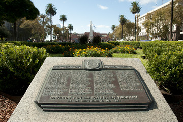 Battle of Tucuman at Plaza de Mayo - Buenos Aires - Argentina