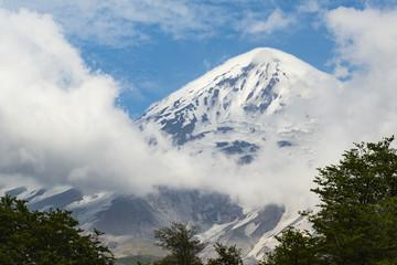 Snow on Vulcano Peak