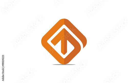 Abstract Square Up Logo Stock Image And Royalty Free Vector Files