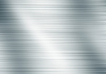 metal background with reflections