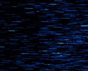 Square blue vivid 8-bit pixel dot interlaced space stars blast t