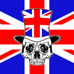Gentleman and Flag