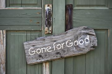 Gone for Good.