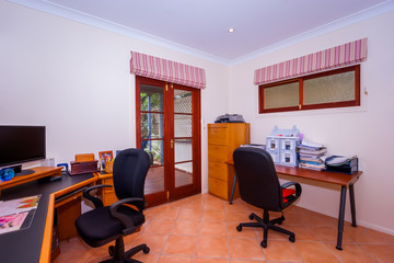 Office with two tables