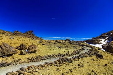 Landscape with Footpath on Tenerife Island
