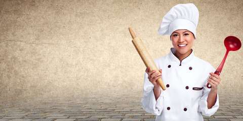 Chinese Chef woman.