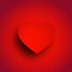 バレンタイン ハート 赤 背景