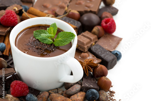 Горячий шоколад над свечой без смс