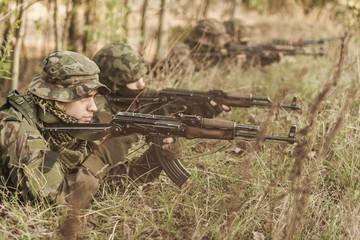 Military training ground