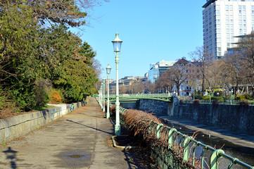 Wienfluss beim Wiener Stadtpark