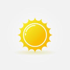 Yellow sun logo