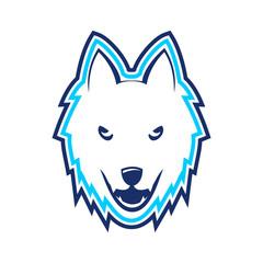 White Ice Wolf