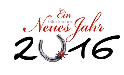 Ein Glückliches Neues Jahr 2016