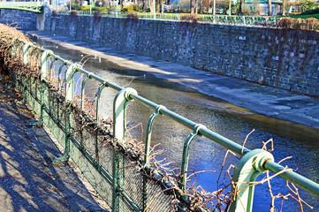 Wienfluss im Wiener Stadtpark
