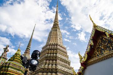 Wat Pho, The famous temple in Bangkok, Thailand