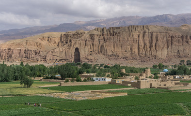the giant buddhas - afghanistan