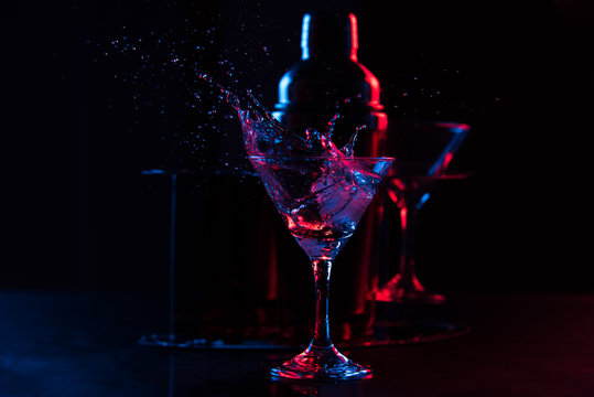 cocktail con schizzi