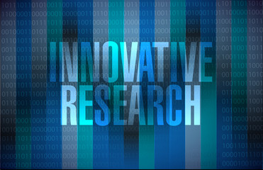 innovative research binary sign concept