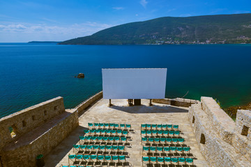 Cinema hall in Herceg Novi Citadel - Montenegro