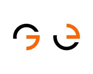 G E Letter Logo