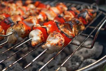 Chicken meat, BBQ