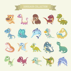 cartoon dinosaur collections