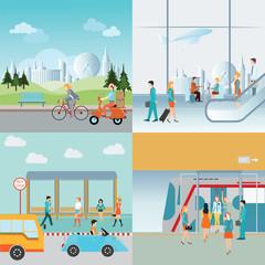 Info graphic of Transportation.