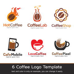 Coffee Logo Template Design Vector