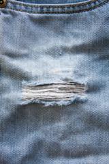 Jeans torn denim texture